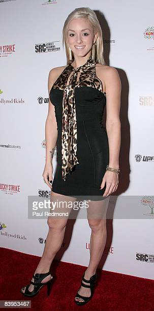 Singer Rachele Royale attends Children's Holiday Bowl and Toy Drive benefiting the Children of South LA's youth center A Place Called Home hosted by...