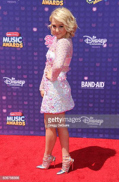 Singer RaeLynn arrives at the 2016 Radio Disney Music Awards at Microsoft Theater on April 30 2016 in Los Angeles California