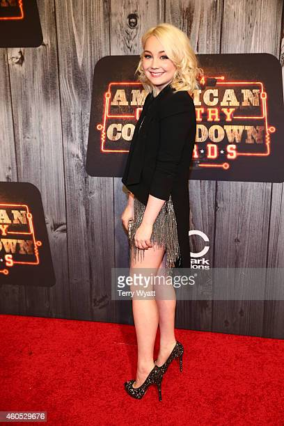 Singer RaeLynn attends the 2014 American Country Countdown Awards at Music City Center on December 15 2014 in Nashville Tennessee