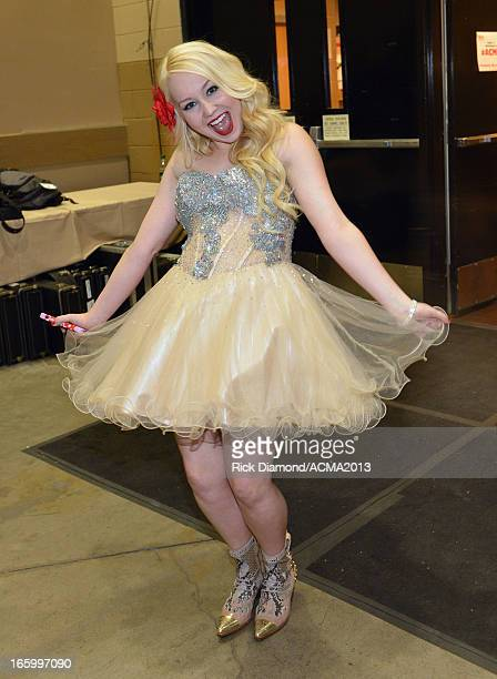 Singer RaeLynn attends the 48th Annual Academy of Country Music Awards at the MGM Grand Garden Arena on April 7 2013 in Las Vegas Nevada