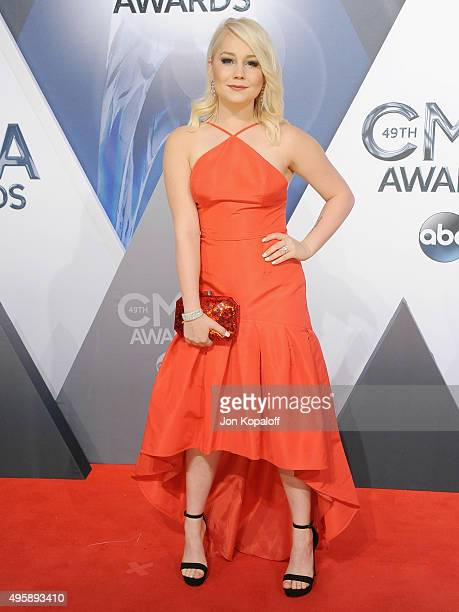 Singer RaeLynn attends the 49th annual CMA Awards at the Bridgestone Arena on November 4 2015 in Nashville Tennessee