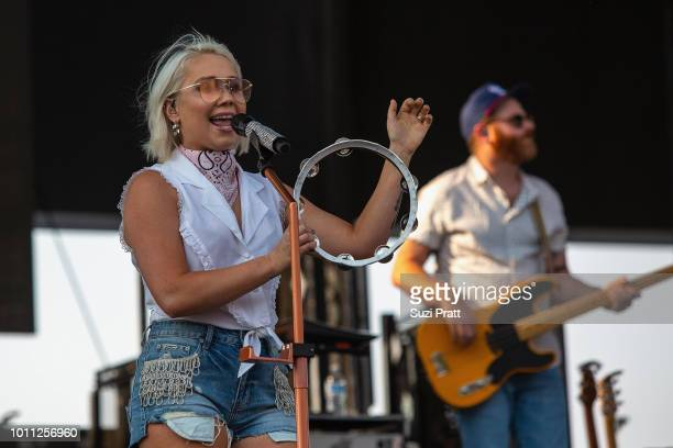 Singer Raelynn performs at Watershed Festival at Gorge Amphitheatre on August 4 2018 in George Washington