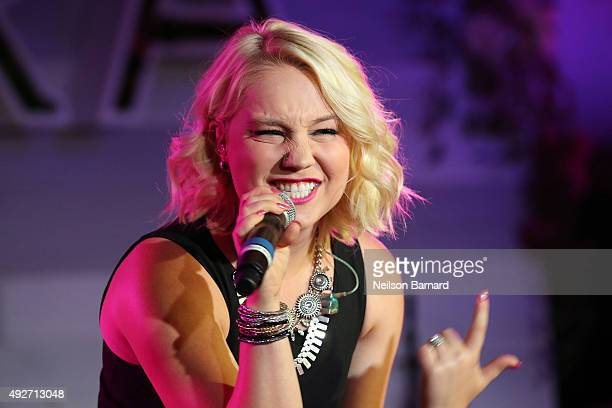 Singer RaeLynn performs during Pandora Presents Women In Country at The Altman Building on October 14 2015 in New York City