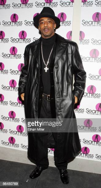 B singer Ralph Tresvant arrives at the grand opening of the Seamless Adult Ultra Lounge early December 18 2005 in Las Vegas Nevada