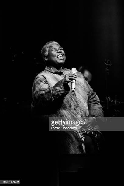 Singer Randy Crawford performs live on stage during a concert at Admiralspalast on May 7 2018 in Berlin Germany