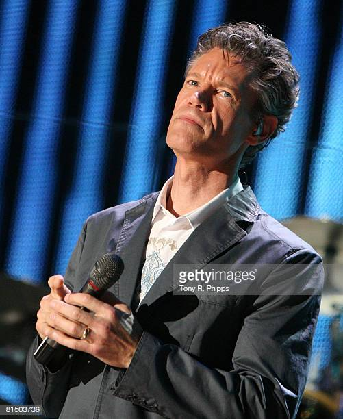 Singer Randy Travis performs at the VAULT Concert Stages during the 2008 CMA Music Festival on June 8, 2008 at LP Field in Nashville, Tennessee.