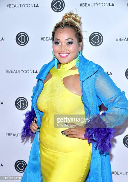 Singer Ranella attends Beautycon Festival Los Angeles 2019 at Los Angeles Convention Center on August 11 2019 in Los Angeles California