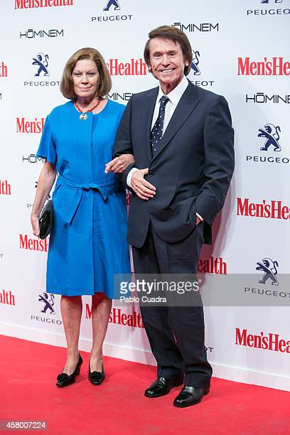 Singer Raphael and his wife Natalia Figueroa attend the Men's Health Awards Gala at Goya Theatre on October 28 2014 in Madrid Spain