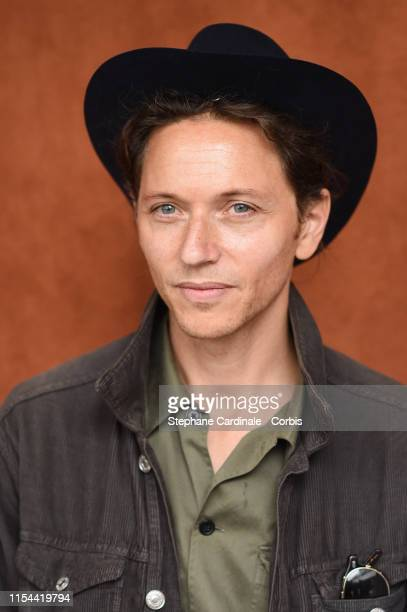 Singer Raphael attends the 2019 French Tennis Open Day Thirteen at Roland Garros on June 07 2019 in Paris France
