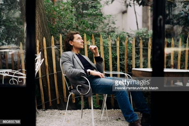 Singer Raphael is photographed for Paris Match on August 21 2017 in Paris France
