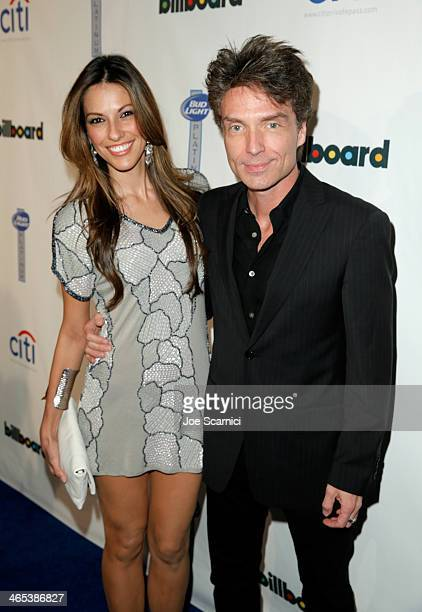 Singer Raquel Houghton and singer/songwriter Richard Marx attend the second annual Billboard GRAMMY After Party at The London West Hollywood on...