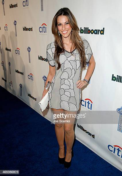 Singer Raquel Houghton attends the second annual Billboard GRAMMY After Party at The London West Hollywood on January 26, 2014 in West Hollywood,...