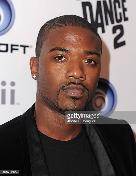 Singer Ray J arrives to the launch party for Ubisoft's 'Just Dance 2' on October 19 2010 in Hollywood California