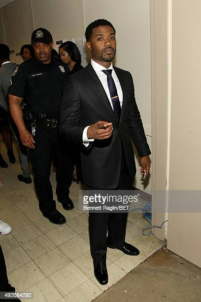 Singer Ray J attends the BET Hip Hop Awards Show 2015 at the Atlanta Civic Center on October 9 2015 in Atlanta Georgia