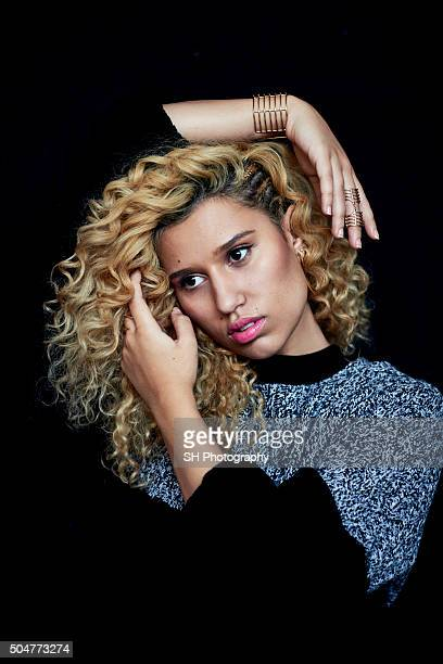 Singer Raye aka Rachel Keen is photographed for Notion magazine on October 19 2015 in London England
