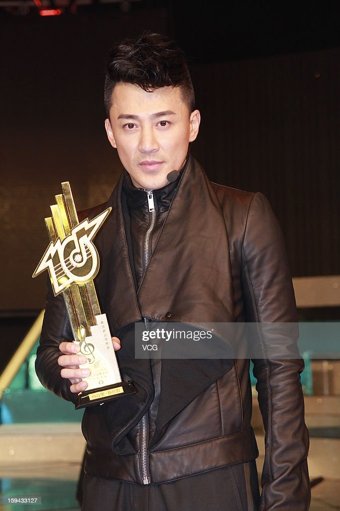 Singer Raymond Lam attends the 2012 Jade Solid Gold Best Ten Music Awards Presentation at TVB City on January 13, 2013 in Hong Kong, Hong Kong.
