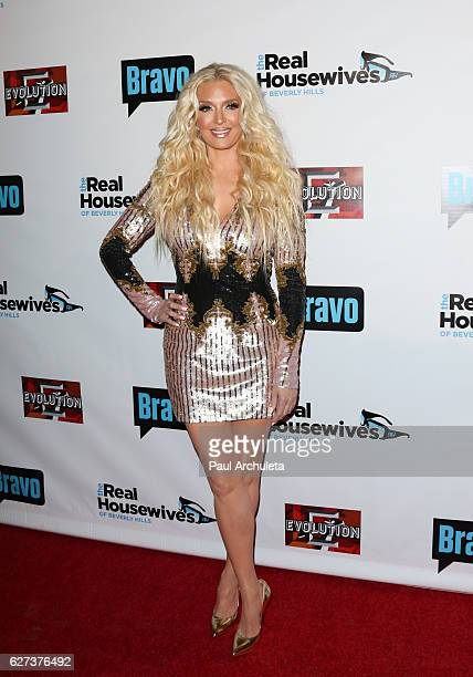 Singer / Reality TV Personality Erika Girardi attends the premiere party for Bravo Networks' 'Real Housewives Of Beverly Hills' Season 7 at Sofitel...