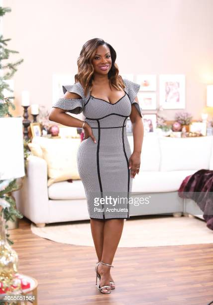 Singer / Reality TV Personality Kandi Burruss visits Hallmark's Home Family at Universal Studios Hollywood on October 30 2018 in Universal City...