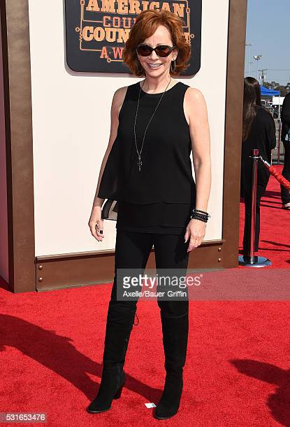 Singer Reba McEntire arrives at the 2016 American Country Countdown Awards at The Forum on May 1 2016 in Inglewood California
