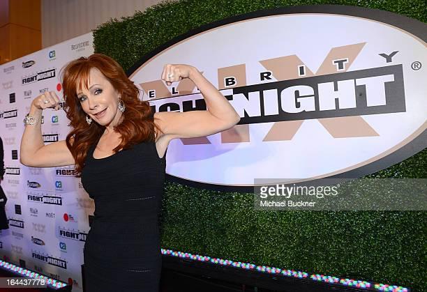 Singer Reba McEntire attends Muhammad Ali's Celebrity Fight Night XIX at JW Marriott Desert Ridge Resort & Spa on March 23, 2013 in Phoenix, Arizona.