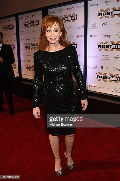 Singer Reba McEntire attends Muhammad Ali's Celebrity Fight Night XXI at the JW Marriott Phoenix Desert Ridge Resort Spa on March 28 2015 in Phoenix...