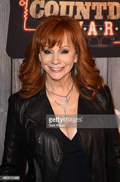 Singer Reba McEntire attends the 2014 American Country Countdown Awards at Music City Center on December 15 2014 in Nashville Tennessee