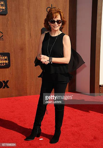 Singer Reba McEntire attends the 2016 American Country Countdown Awards at The Forum on May 01 2016 in Inglewood California
