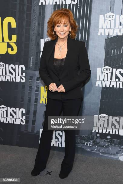 Singer Reba McEntire attends the 2017 CMT Music Awards at the Music City Center on June 7 2017 in Nashville Tennessee