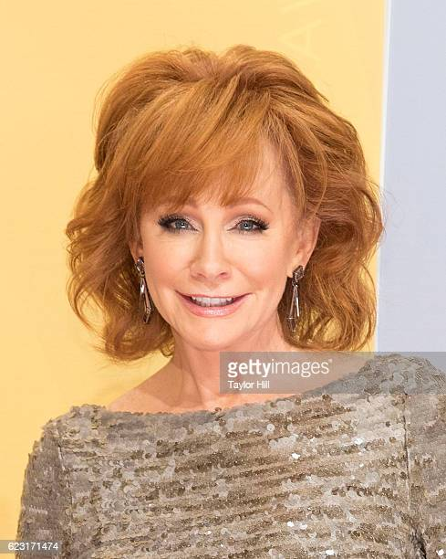 Singer Reba McEntire attends the 50th annual CMA Awards at the Bridgestone Arena on November 2 2016 in Nashville Tennessee