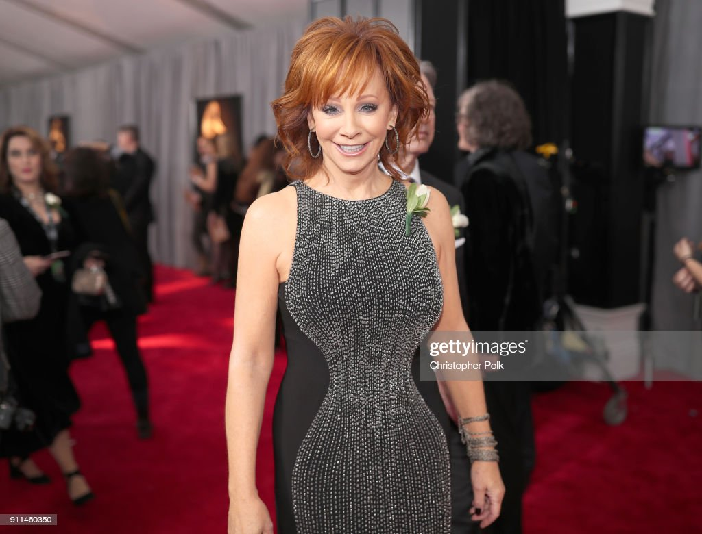 60th Annual GRAMMY Awards - Red Carpet : News Photo