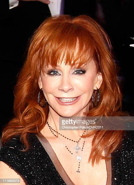 Singer Reba McEntire backstage during ACM Presents Girls' Night Out Superstar Women of Country concert held at the MGM Grand Garden Arena on April 4...