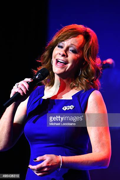Singer Reba McEntire performs onstage during the 53rd annual ASCAP Country Music awards at the Omni Hotel on November 2 2015 in Nashville Tennessee