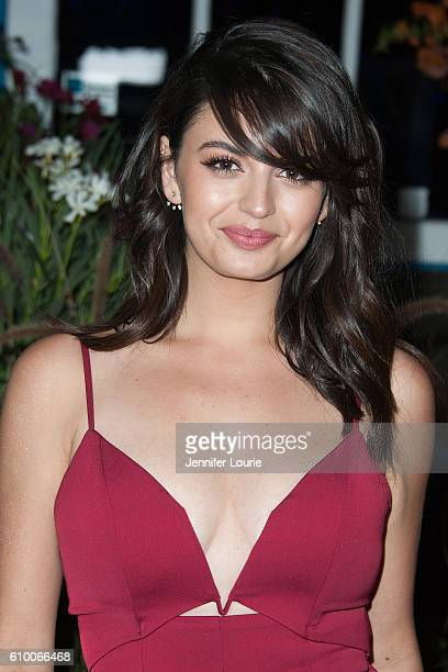 Singer Rebecca Black attends the Teen Vogue Celebrates 14th Annual Young Hollywood Issue at the Reel Inn on September 23 2016 in Malibu California