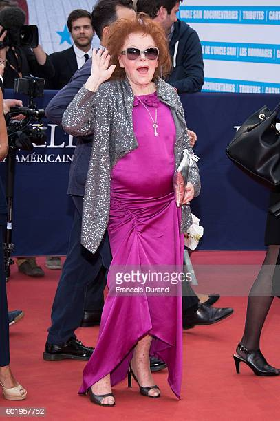 Singer Regine and guest arrive to the War Dogs premiere and Award Ceremony during the 42nd Deauville American Film Festival on September 10 2016 in...