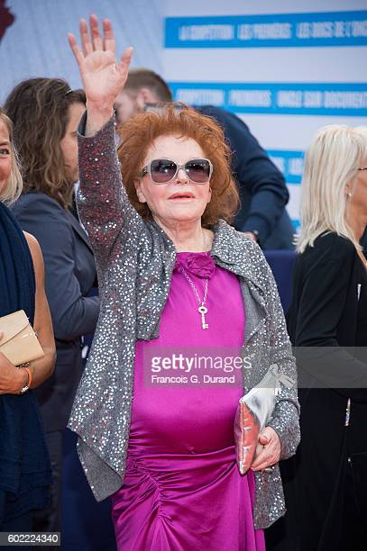 Singer Regine arrives to the War Dogs premiere and Award Ceremony during the 42nd Deauville American Film Festival on September 10 2016 in Deauville...