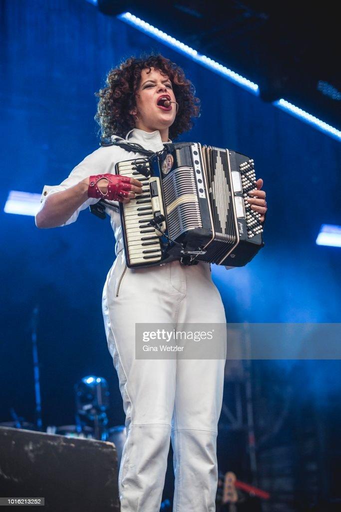 Arcade Fire Perform In Berlin
