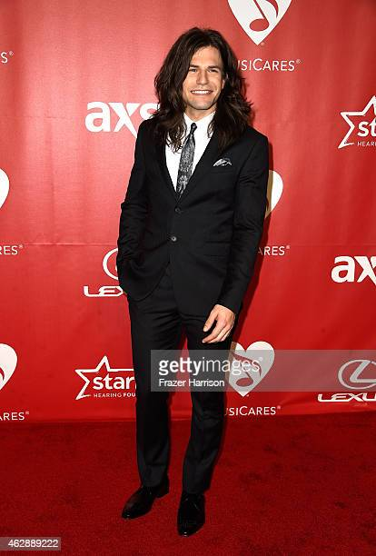Singer Reid Perry of The Band Perry attends the 25th anniversary MusiCares 2015 Person Of The Year Gala honoring Bob Dylan at the Los Angeles...