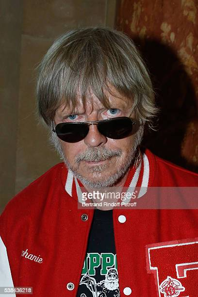 Singer Renaud Sechan attends the Concert of Patrick Bruel at Theatre Du Chatelet on June 6 2016 in Paris France