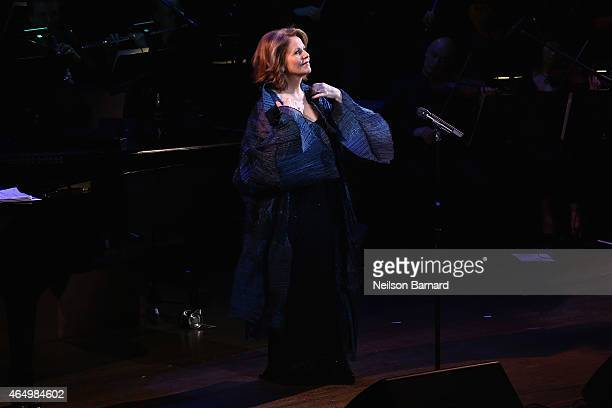 Singer Renée Fleming performs onstage at SeriousFun Children's Network 2015 New York Gala An Evening of SeriousFun Celebrating the Legacy of Paul...