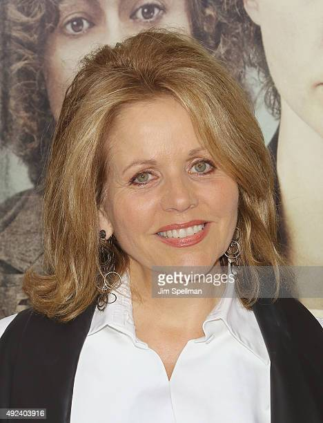 Singer Renee Fleming attends the 'Suffragette' New York premiere at The Paris Theatre on October 12 2015 in New York City