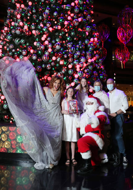 AUS: Crown Melbourne Lights Up Its Christmas Display To Welcome 2020 Festive Season