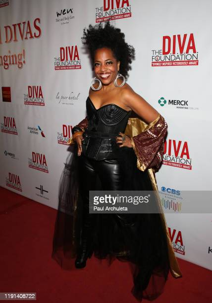 Singer Rhonda Ross Kendrick attends the 29th Annual DIVAS Simply Singing On World AIDS Day at Taglyan Cultural Complex on December 01 2019 in...