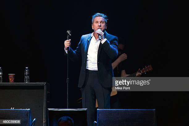 Singer Ricardo Montaner performs at Amor A Nuestra Musica 2014 at the Nassau Coliseum on December 5 2014 in Uniondale New York