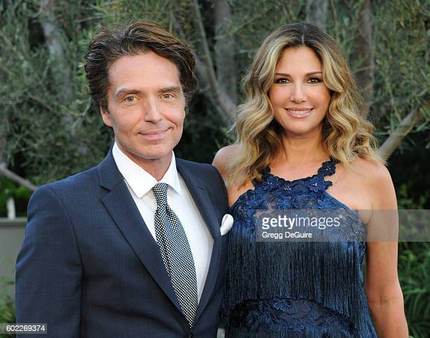 Singer Richard Marx and Daisy Fuentes arrive at Mercy For Animals Hidden Heroes Gala 2016 at Vibiana on September 10, 2016 in Los Angeles, California.