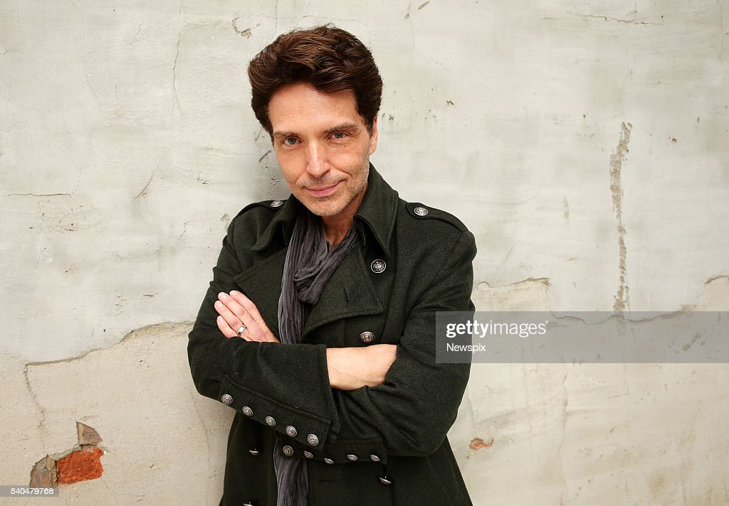 Singer Richard Marx poses during a photo shoot in Melbourne, Victoria.