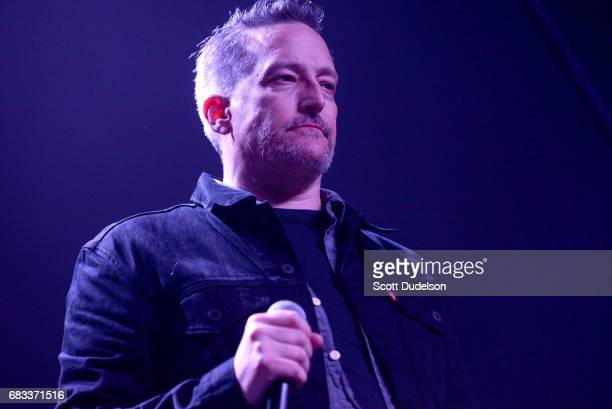 Singer Richard Patrick of Filter performs onstage during the Strange 80's benefit at The Fonda Theatre on May 14 2017 in Los Angeles California