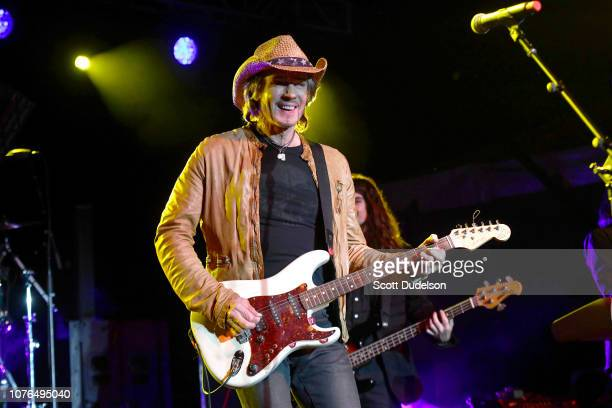 Singer Rick Springfield performs onstage during the One Love Malibu Festival at King Gillette Ranch on December 02, 2018 in Malibu, California.