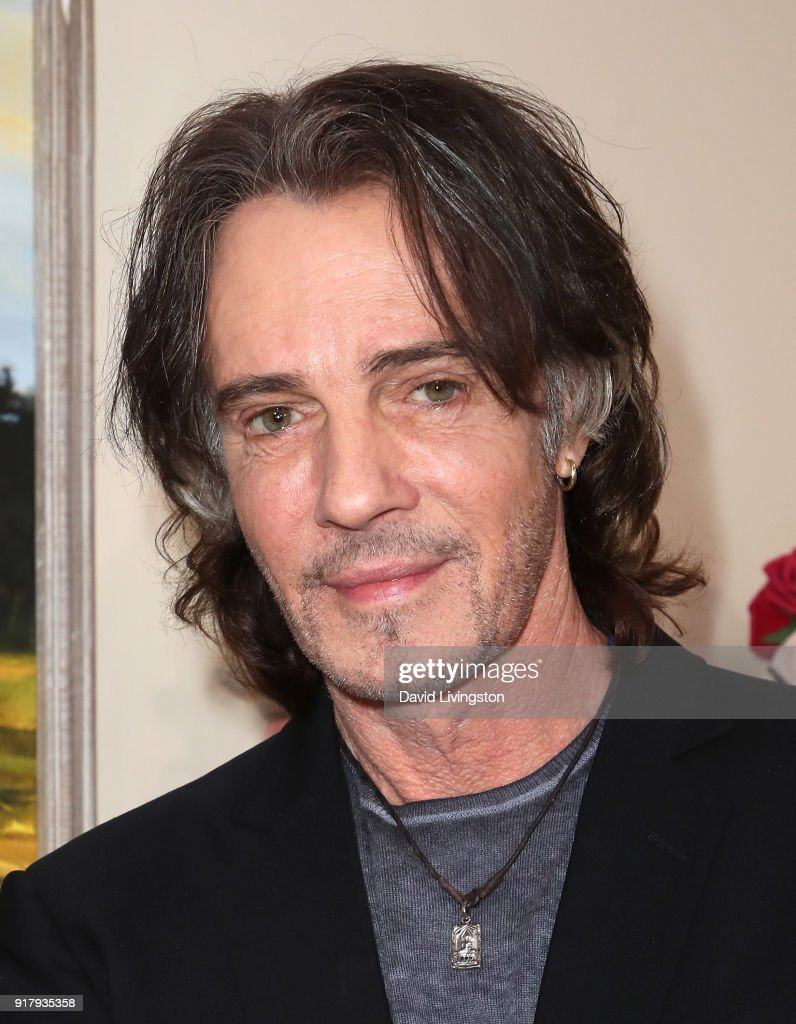 Singer Rick Springfield visits Hallmark's 'Home & Family' at Universal Studios Hollywood on February 13, 2018 in Universal City, California.