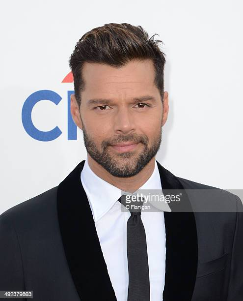Singer Ricky Martin arrives at the 2014 Billboard Music Awards at the MGM Grand Garden Arena on May 18 2014 in Las Vegas Nevada