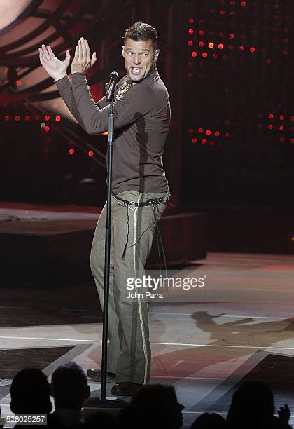 Singer Ricky Martin performs Blanco y Negro Tour Live at the new Fillmore at the Jackie Gleasen Theather in Miami Beach, Fl on October 10,2007